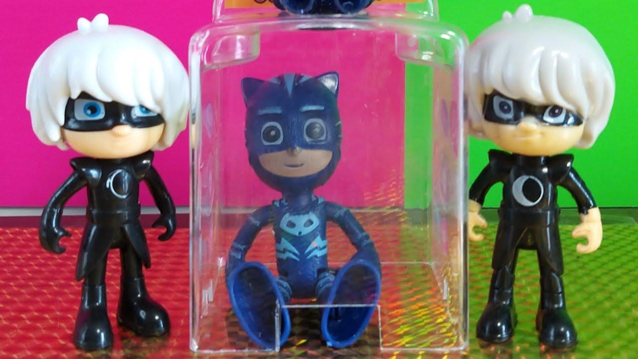 Pijamaskeliler Türkçe oyuncaklar çocuklar için - Connor, Greg ve Amaya - Pj Masks Toys