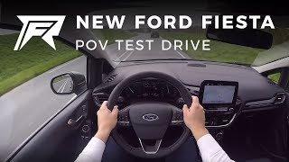 2017 Ford Fiesta 1.0 EcoBoost - POV Test Drive (no talking, pure driving)