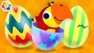 Huevo Sorpresa de Colores | Aprender Animales Para Niños con Larry El Loro | Nuevo de BabyFirst