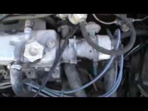 Установка зажигания двигателя