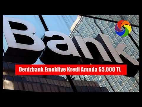 Denizbank Emekliye Kredi Anında 65.000 TL