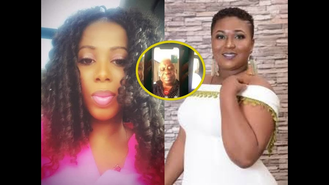 Download Ghanaian Actress F!RES the lady who recorded the national security minister