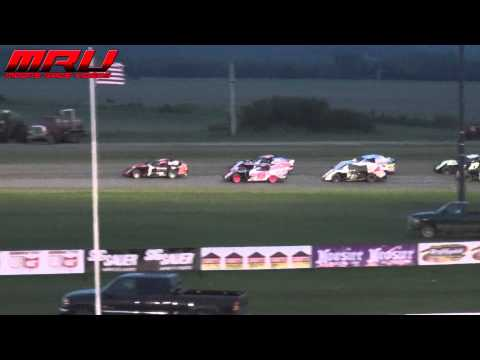 Sportmod Feature during the Carlson Clash at Park Jefferson Speedway on May 29th