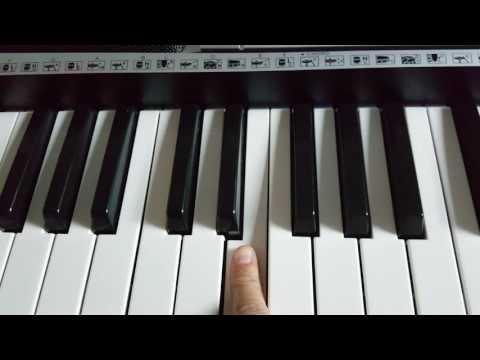 Comment jouer la panthère rose au piano,facile pour les debutant