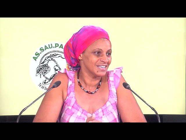 ASSAUPAMAR - 30 Avril 2021 - Fanywa et Marie Jeanne Toulon   problématique de l'eau   PAD