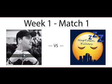 [Season 3] The Spaniards VS NapTown Killers -Week 1 Match 1