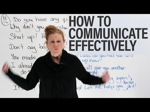 How to communicate