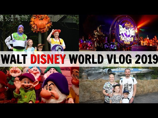 WALT DISNEY WORLD VLOG 2019: Mickey's Not So Scary Halloween Party & Galaxy's Edge Opening Day!