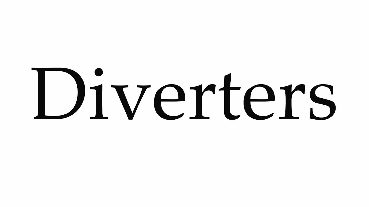 How to pronounce diverters youtube for Terrace pronunciation