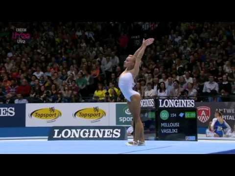 Women's All Around Final, World Championships Antwerp  2013, Artistic Gymnastics