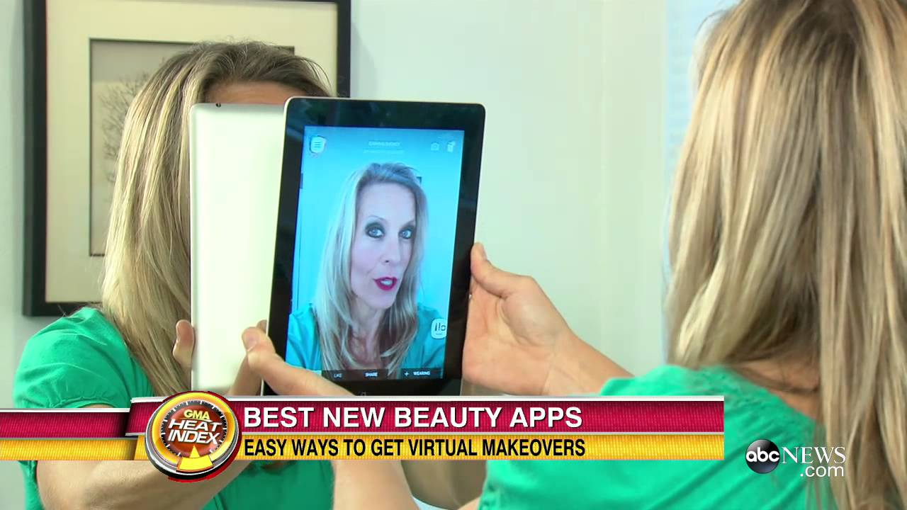best beauty apps: virtual makeovers - youtube