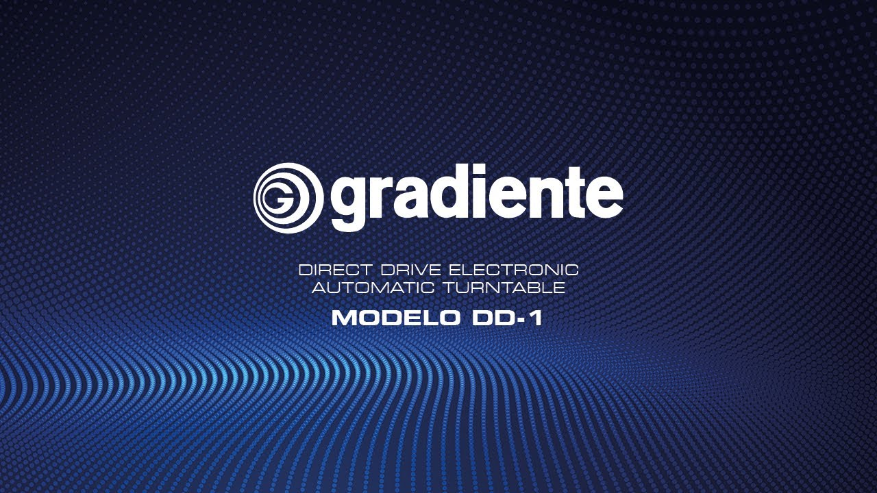 Toca discos Gradiente DD1