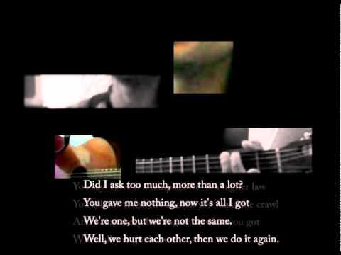One U2 - chords + lyrics cover by jasieLCalixto