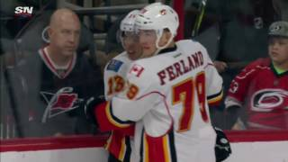 Gaudreau scores twice, 8 points in last 4 games