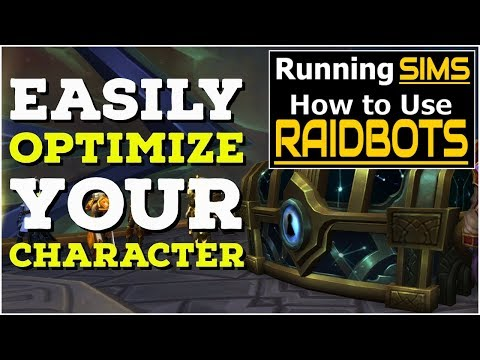 How to Sim Yourself in WoW - RaidBots Guide // INCREASE Your DPS!