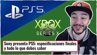 ¡¡PS5 vs XBOX SERIES X!! PS5 presenta ESPECIFICACIONES OFICIALES
