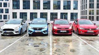 Video 2019 Volkswagen Polo vs 2018 Ford Fiesta vs 2018 Honda Jazz vs 2018 Kia Rio download MP3, 3GP, MP4, WEBM, AVI, FLV Oktober 2018