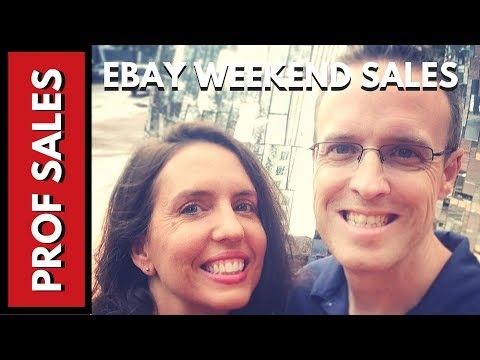 Ebay Weekend Sales Strategy Fun