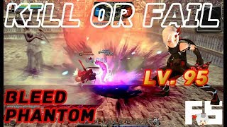 Dragon Nest PvP: Bleed Phantom v Guardian v Barbarian and Gladiator Lv. 95 KOF KDN Spec