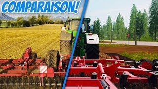Farming Simulator 19 VS IN-GAME GAMPLAY !