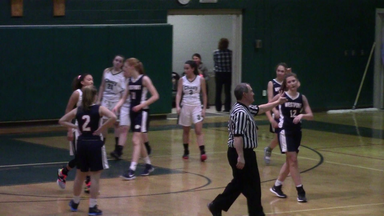 Chazy - Westport Girls  1-15-19