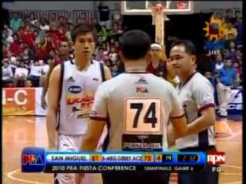 San Miguel vs Derby Ace - 8-1-10 ( Semifinals - Game 6 ) Part 12