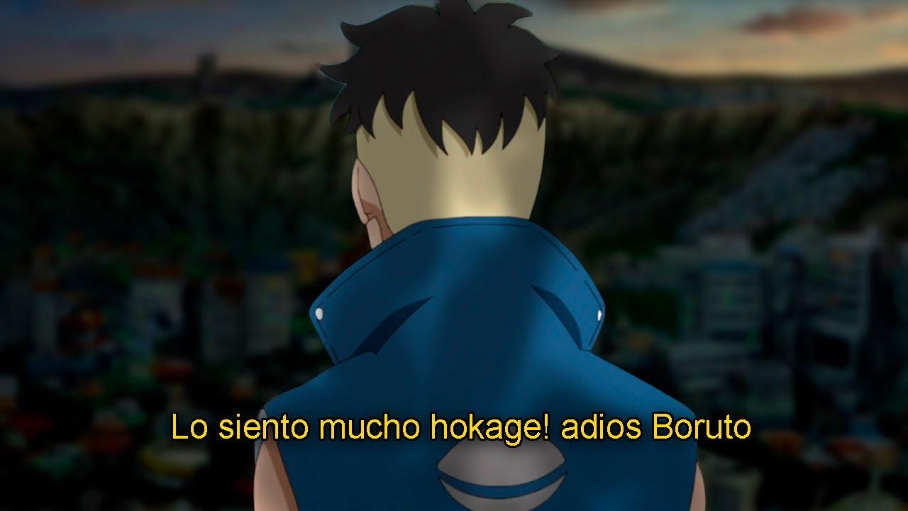 La DECICION de KAWAKI BORUTO Naruto Next Generations 209
