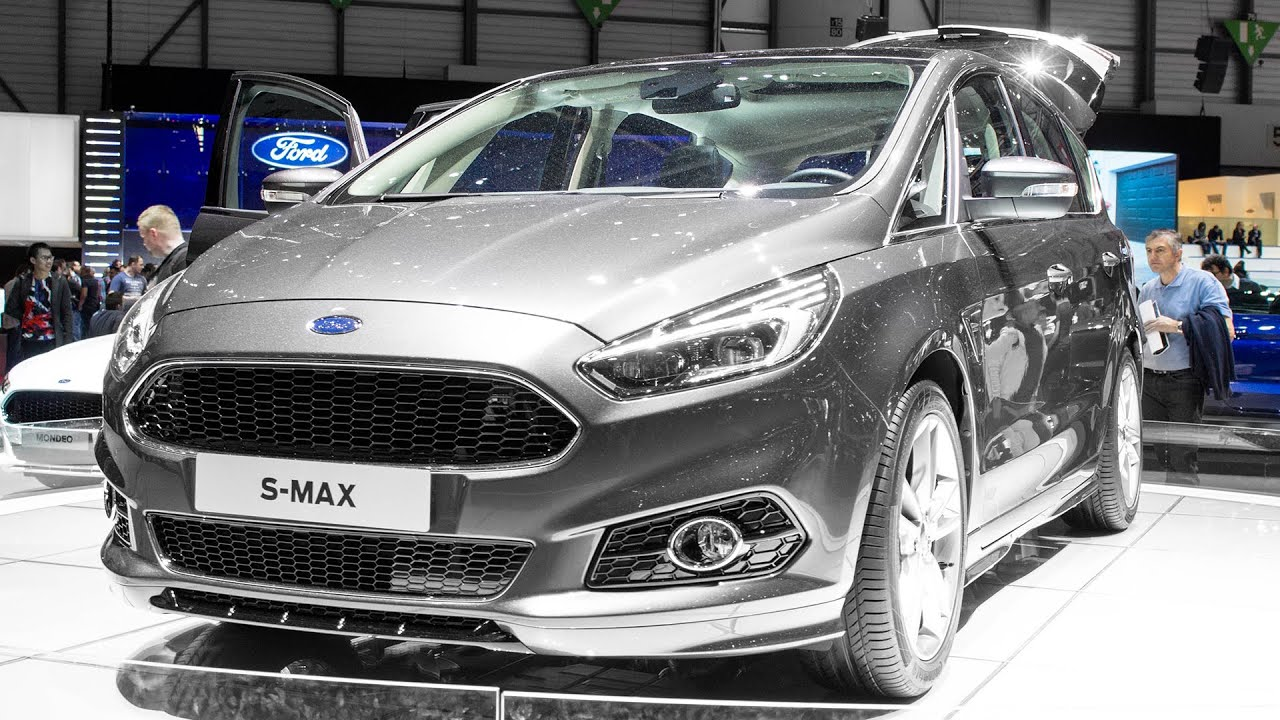 new ford s max geneva motor show 2015 hq youtube. Black Bedroom Furniture Sets. Home Design Ideas