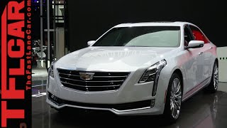 2016 Cadillac CT6: Everything You Ever Wanted to Know from NYC