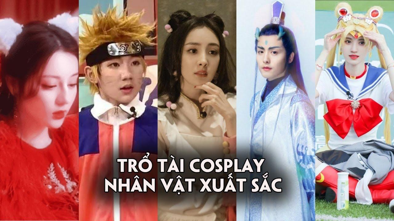 Dương Mịch,Địch Lệ Nhiệt Ba và dàn sao Hoa ngữ trổ tài cosplay xuất sắc