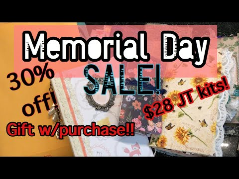 Memorial Day Sale / gifts w/purchase & more