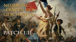 """Europa Universalis 4 - Neu und kostenfrei: DLC """"Frauen der Geschichte"""" & Alles zum Patch 1.11"""