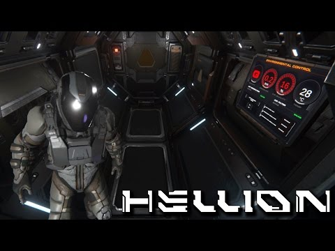 Lost In Space, Hellion NEW Space Survival Game, Baron Goes Interstellar (Hellion Pre-Alpha Gameplay)