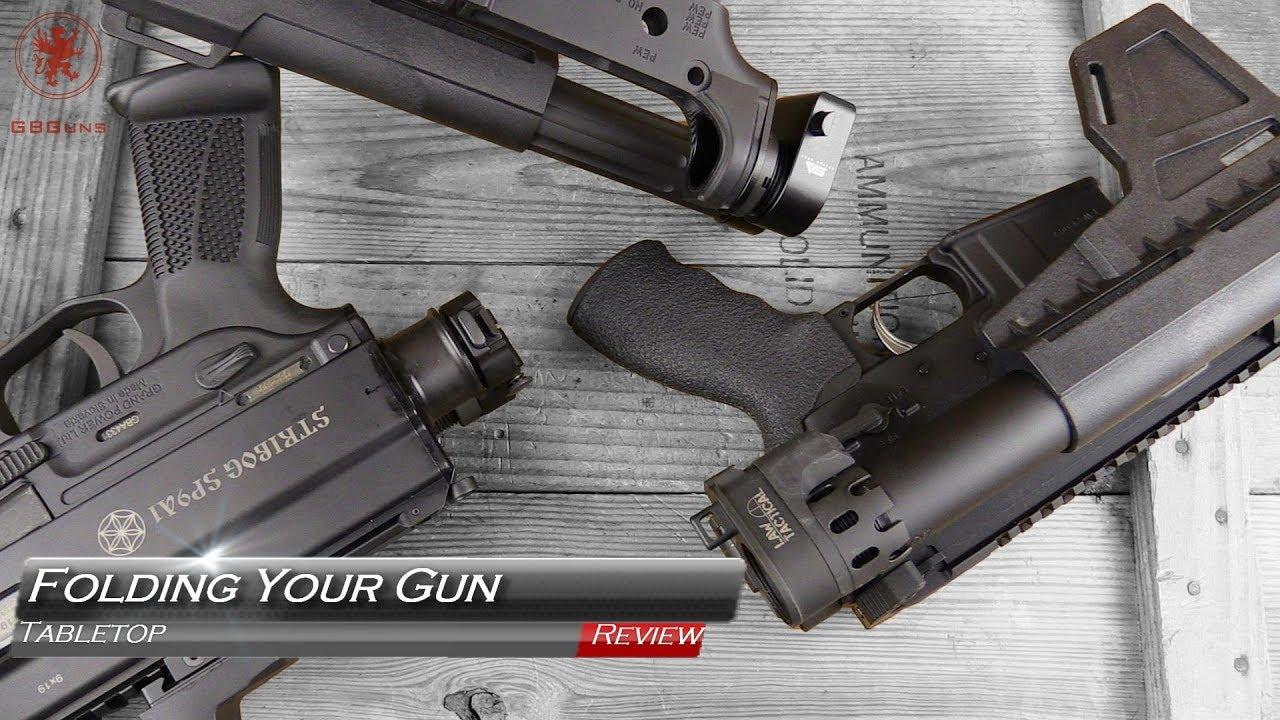 How to Fold Your Gun: Matador Arms, Law Tactical, and Sylvan Arms