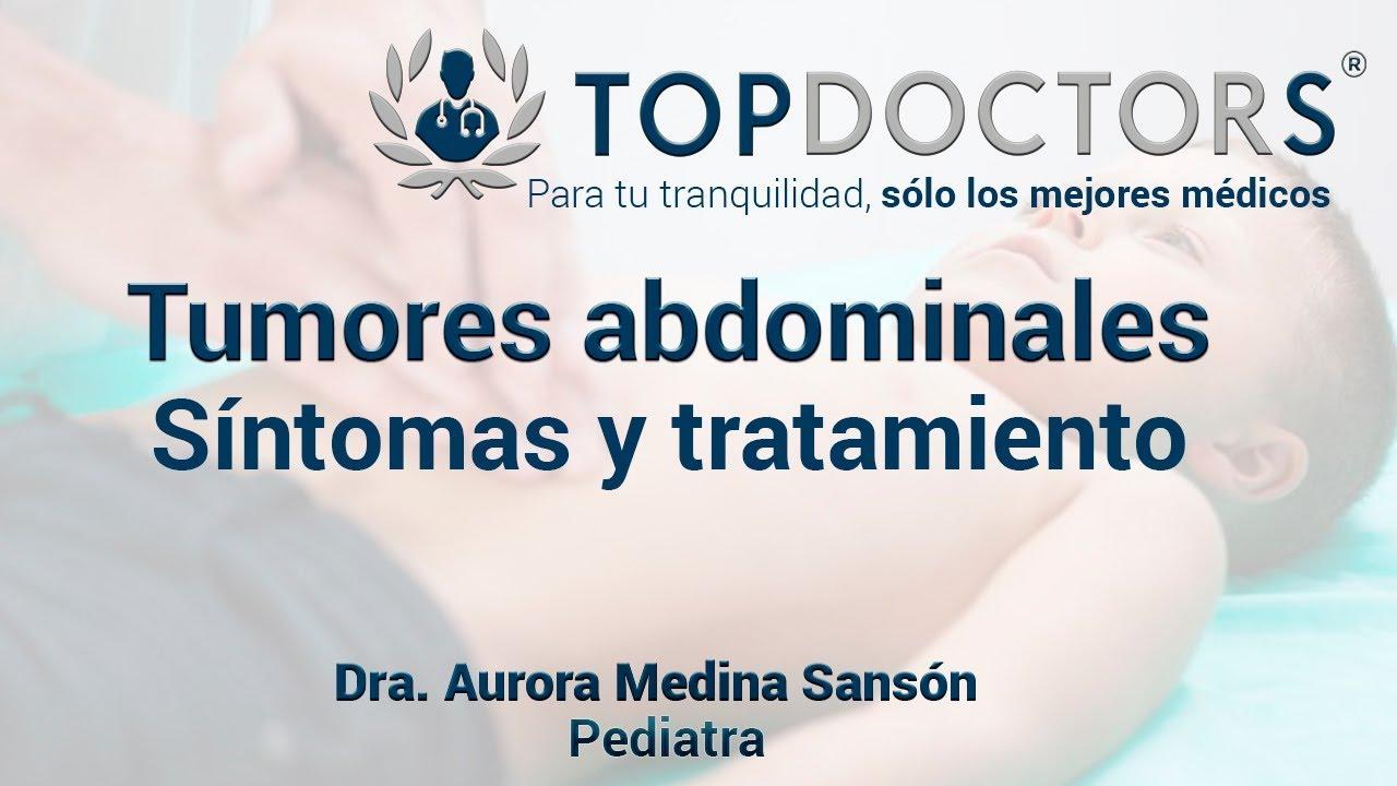 cancer abdominal en ninos sintomas)