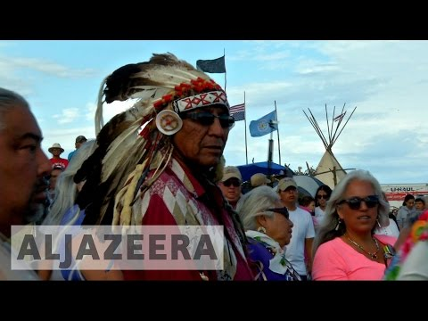 North Dakota Native Americans Protests Pipeline Plans