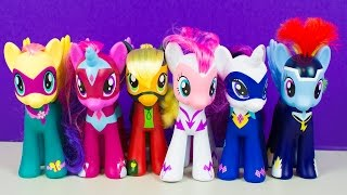 My Little Pony MLP Power Ponies Collection Friendship is Magic Toys Kinder Playtime