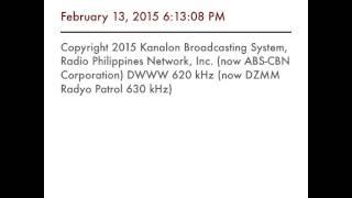 rpn dwww 620 khz now abs cbn dzmm radyo patrol 630 khz