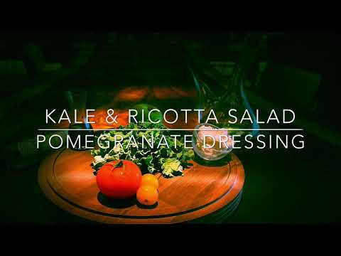 Healthy Salads | Kale & Ricotta | Pomegranate Dressing | Chef ASHISH