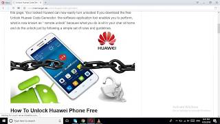 huawei unlock code calculator  generator new algorithm
