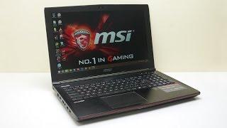 استعراض للحاسب المحمول MSI GE62 7RE Apache Pro بكرت شاشة GTX 1050 Ti