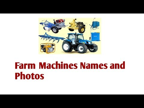 Farm Machines Names And Images