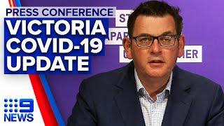 Coronavirus: Victoria records 410 new cases, 21 deaths | 9News Australia