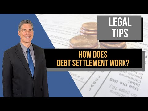 How does debt settlement work?