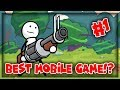 watch he video of BEST MOBILE GAME EVER?!? | One Gun: Stickman