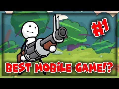 BEST MOBILE GAME EVER?!? | One Gun: Stickman