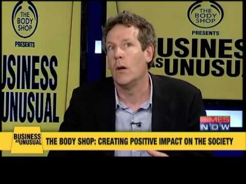 Business As Unusual on Times Now with The Body Shop