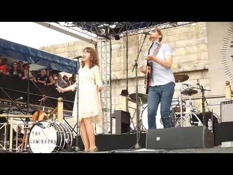 Duet The Lumineers Newport Folk Festival 2013