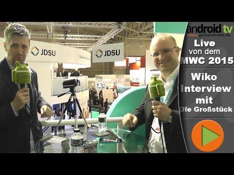 Wiko Highway Pure und Highway Star im MWC 2015 Interview [GER]