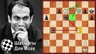 Шахматы. Михаил Таль. ШЕДЕВР ПО ЗАКАЗУ